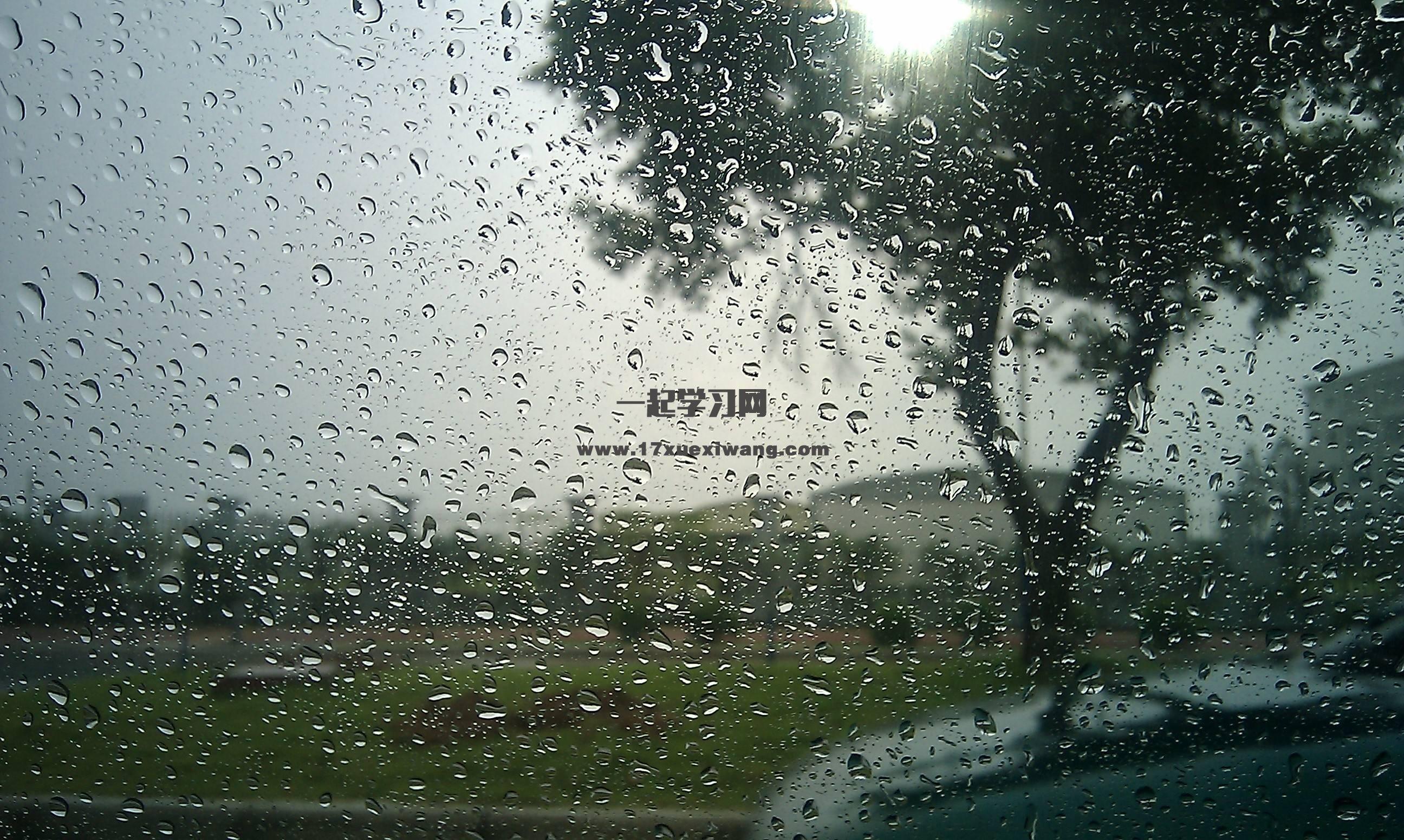 雨天的寂寞